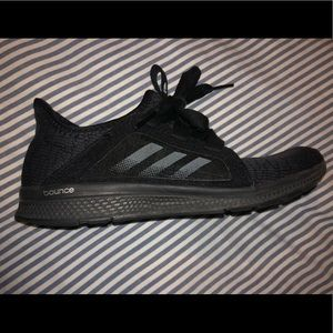 Adidas black bounce shoes